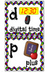 Math Alphabet Wall Chart