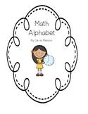Math Alphabet or Word Wall