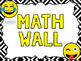 Math Alphabet A to Z (Math Word Wall) Emoji Classroom Theme Series