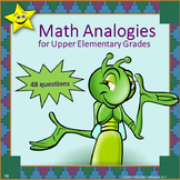 Math Analogies for Upper Elementary Grades