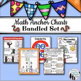 Math Anchor Charts Bundled Set