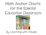 Math Anchor Charts for Special Education Classroom