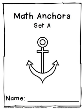 Math Anchors Set A: Addition to 5