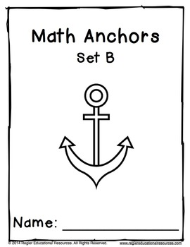Math Anchors Set B: Subtraction to 5