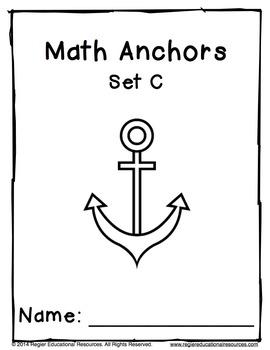 Math Anchors Set C: Addition to 10