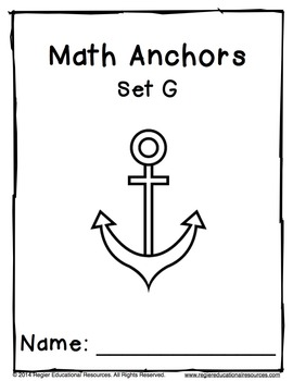 Math Anchors Set G: Addition and Subtraction to 20