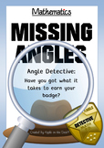 Math: Angle Detective - Calculating Missing Angles - Every