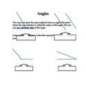 Math - Angle worksheet