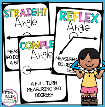 Math Angles Classroom Display Posters