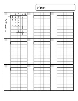 math answer sheet with graph paper grid bundle by mrssquier tpt. Black Bedroom Furniture Sets. Home Design Ideas