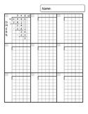 Math Answer Sheet with Graph Paper Grid *BUNDLE*