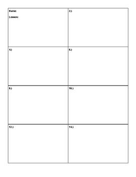 Math Answer Sheets Bundle