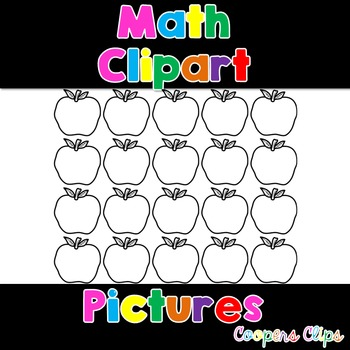 Math: Apple Clipart