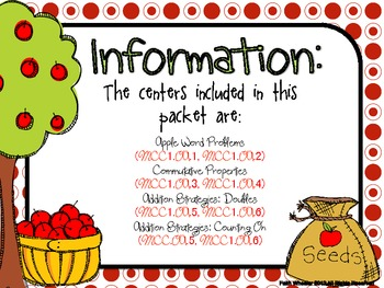 Appleseed Addition Centers