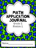 Math Application Journal - Module 2 - 2nd Grade