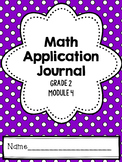Math Application Journal - Module 4 - 2nd Grade