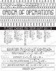 Math, Arithmetic Basics: Order of Operations Poster, Handout, Worksheet