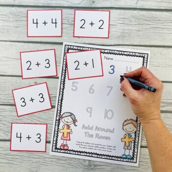 Math Write Around The Room (Get Your Kids Up And Moving!)