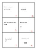 Math Around The Room - Math Scoot