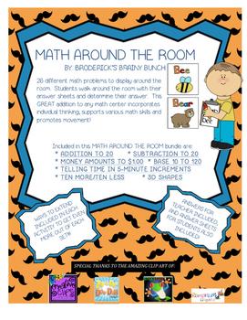Math Around the Room