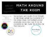 Math Around the Room: Addition with Regrouping