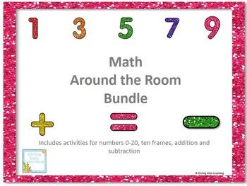 Math Around the Room Bundle