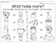 Math Around the Room: Mass and Capacity