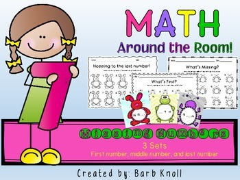Missing Numbers: Math Around the Room