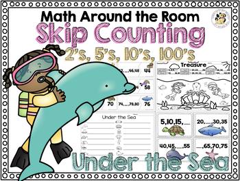 Math Around the Room: Skip Counting