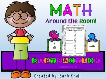 Subtraction: Math Around the Room
