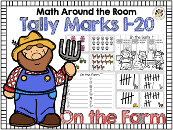 Math Around the Room: Tally Marks