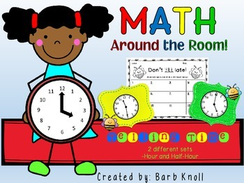 Telling Time: Math Around the Room