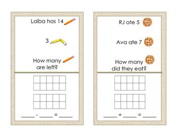 Math Around the Room: Word Problems