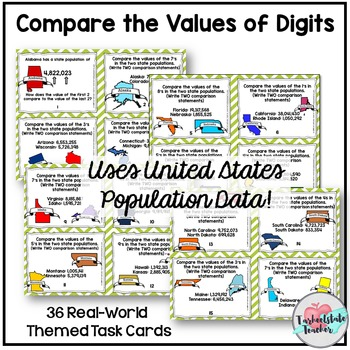 Place Value and Comparing Powers in Numbers 5NBT1 5NBT2 5NBT3a