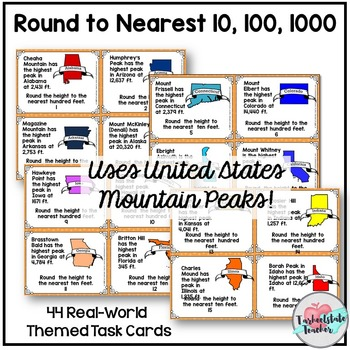Rounding to Tens, Hundreds, Thousands 3.NBT.1 3rd Grade