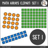 Math Arrays Clipart - SET 1