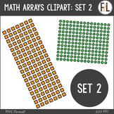Math Arrays Clipart - SET 2