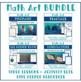 Math Art BUNDLE Fibonacci, Tessellations, Fractals, and more