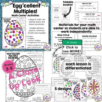 Math Art Coloring with Purpose BUNDLE of 7 Products! (Nearly 50% Off!)