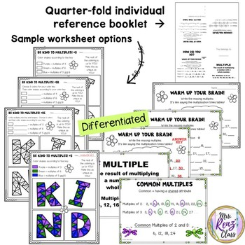 Math Art - Math Coloring that Reinforces Multiplication and Multiples