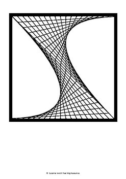 Math Art – Parabolic Curves – Collaborative Project