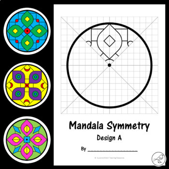 Rotational Symmetry / Radial Symmetry – Mandala Patterns - Math Art