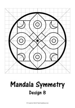 rotational symmetry radial symmetry mandala patterns math art. Black Bedroom Furniture Sets. Home Design Ideas