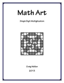 Math Art: Single Digit Multiplication