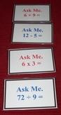 Math Ask Me Cards