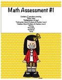 Math Assessment #1-Place Value, Arrays, Perimeter, & Area