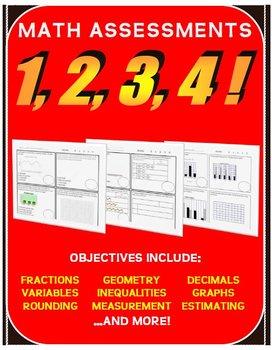 Math Assessment 1234!