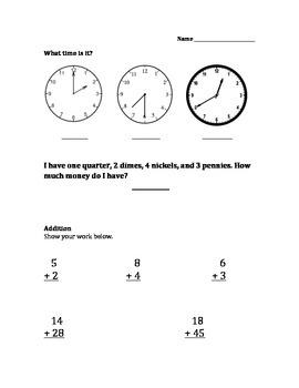 Math Assessment