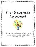 Math Assessment (1.NBT.3-6, 1.OA.1-2, 1.MD.1,2,4, 1.G.2,3)