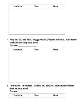 Math Assessment 2.NBT.7